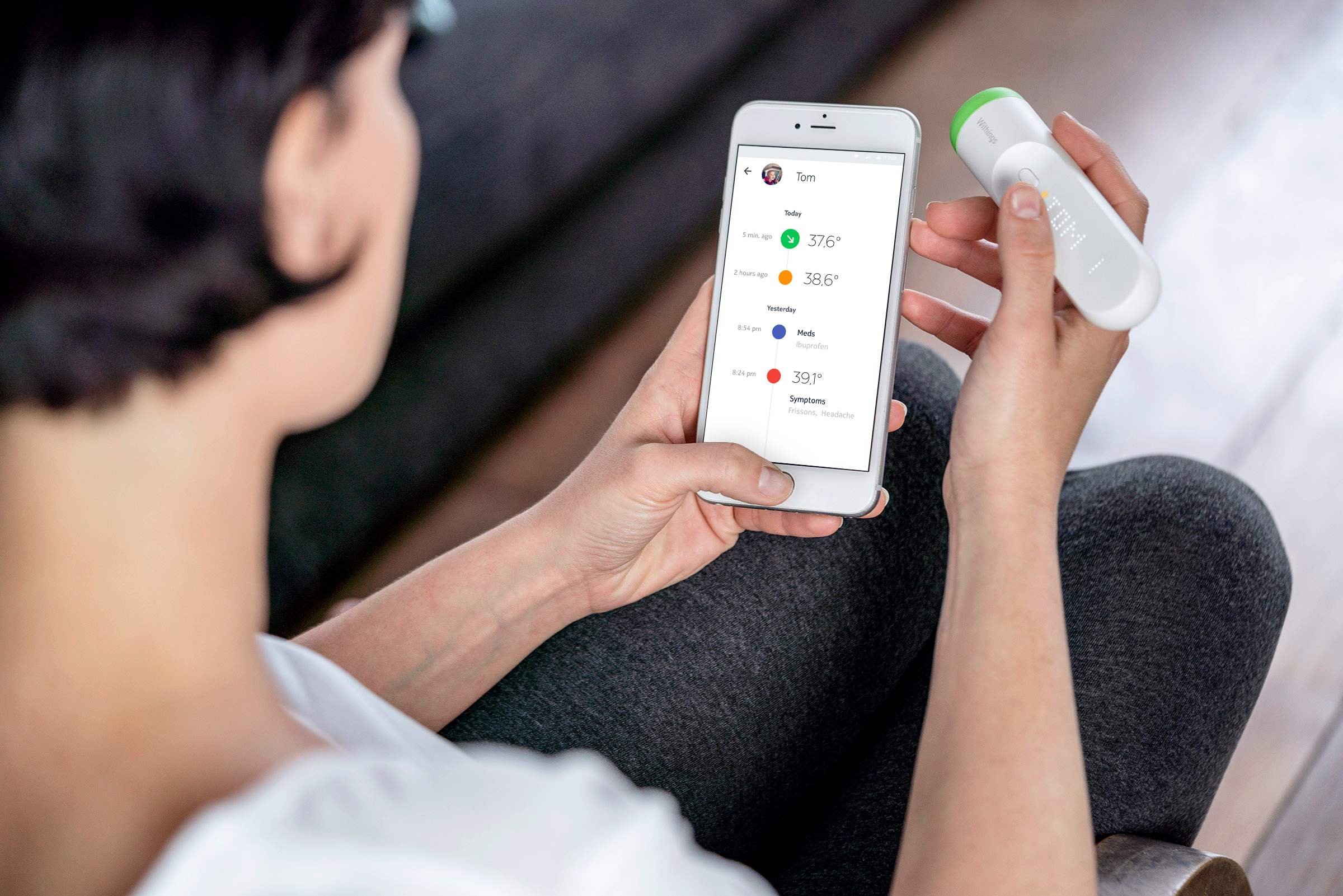Withings Thermo_phone_check