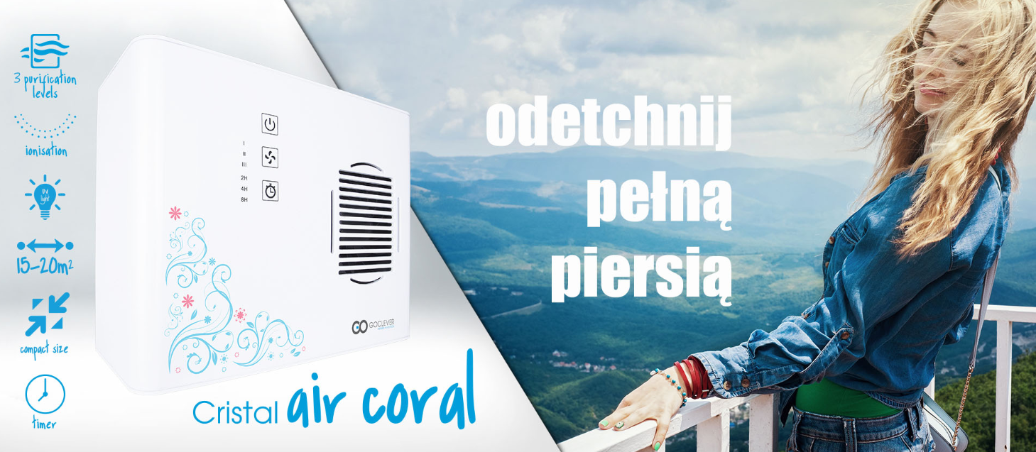 Goclever Cristal Air Coral
