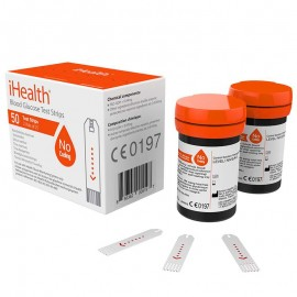 Paski Do Glukometru iHealth 0,7 ΜL  (2 X 25 SZT.)