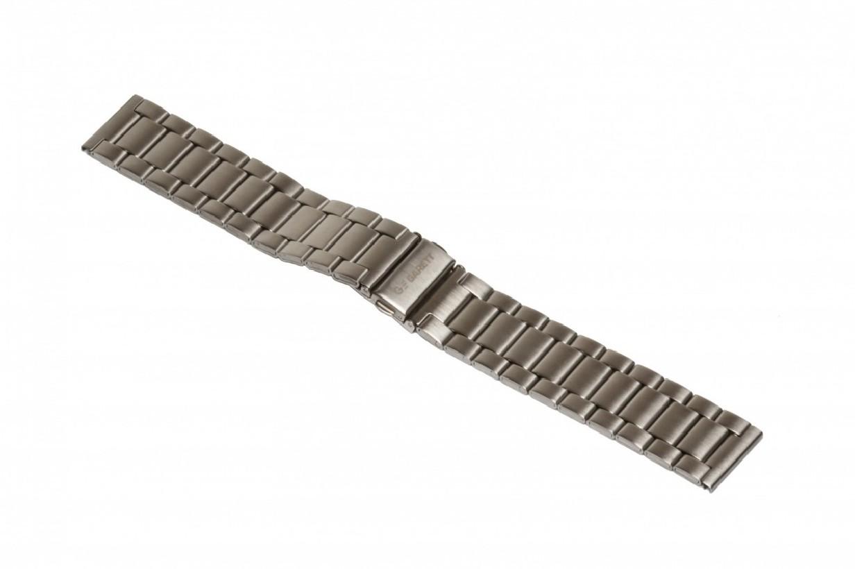 Pasek metalowy Garett GT13, srebrny