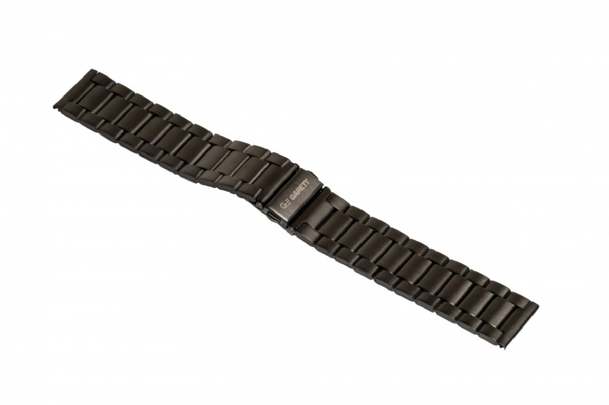 Pasek metalowy Garett GT13, czarny