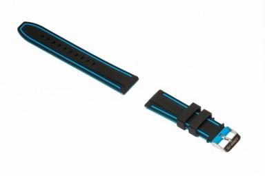 Pasek gumowy Garett Electronics GT13 czarno-niebieski