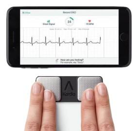 Monitor EKG AliveCore Kardia