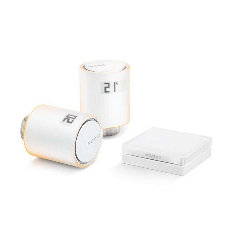 Bezprzewodowa głowica termostatyczna zestaw Netatmo NVP-EN