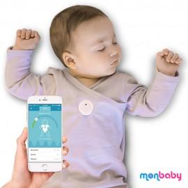 Monitor oddechu i snu dla niemowląt MonBaby