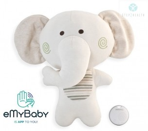 Maskotka słonik Miniland ML89160 z dźwiękiem beMyBuddy