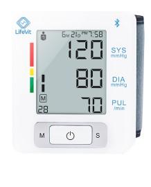 LifeVit FH-BPM150 | Ciśnieniomierz Bezprzewodowy, nadgarstkowy