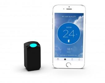 Osobisty Monitor Jakości Powietrza WYND Tracker