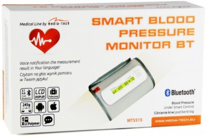 Media-Tech SMART BLOOD PRESSURE MONITOR BT