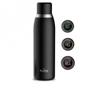 PURO SMART BOTTLE Butelka termiczna INOX z inteligentną nakrętką LED 500 ml