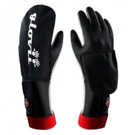 Ogrzewane rękawiczki uniwersalne z wodoodporną osłoną