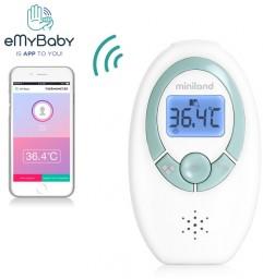 Miniland ML89083 - Bezdotykowy termometr elektroniczny z aplikacją