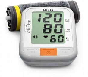 Little Doctor LD51S - Ciśnieniomierz naramienny z funkcją głosową i wskaźnikiem arytmii