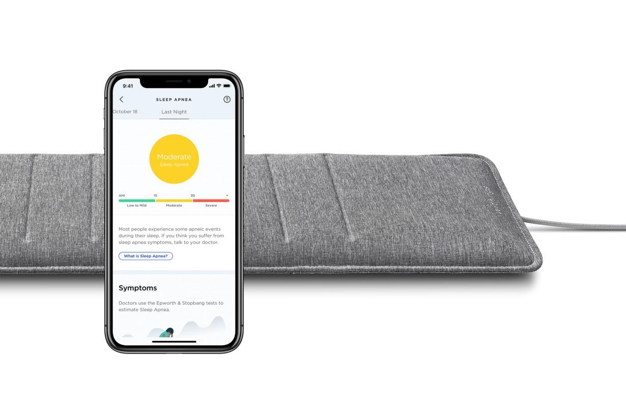 Mata Monitorująca Sen Nokia Sleep