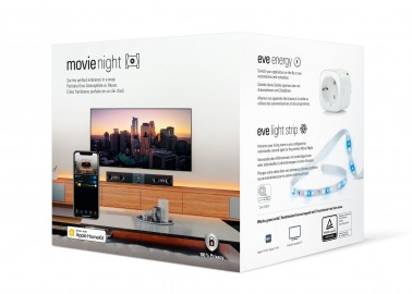 Eve Movie Night - inteligentne gniazdo elektryczne i taśma LED Light Strip