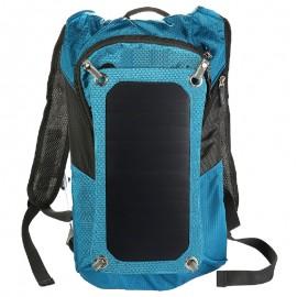 Plecak turystyczny z bidonem 8l i panelem solarnym 7W