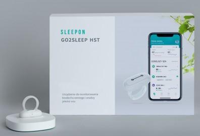 SleepOn Go2Sleep - Pierścień do monitorowania snu