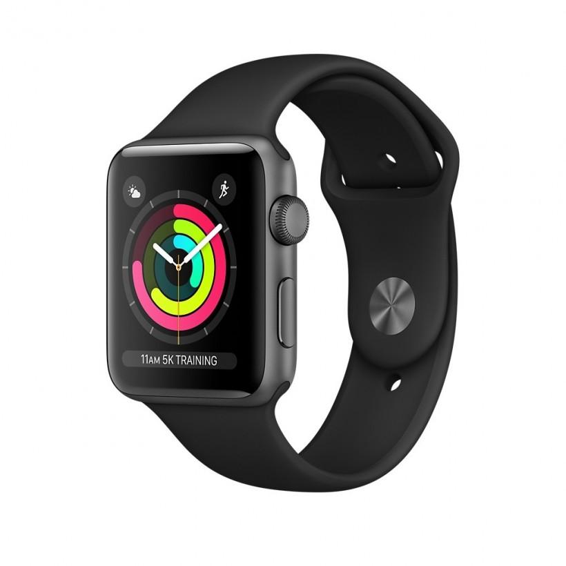 Zegarek Apple Watch Series 3 GPS black band