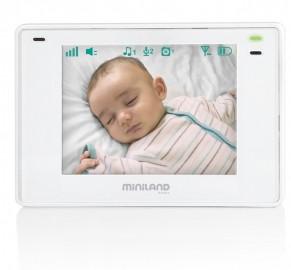 Niania elektroniczna Miniland ML89175 z wielofunkcyjnym ekranem 3,5` plus