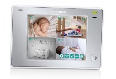 Niania elektroniczna Miniland ML89175 z wielofunkcyjnym ekranem 3,5`